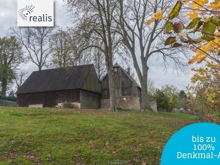 +++Grünas ältester Bauernhof +++ bis zu 100 % Denkmal-AfA sichern