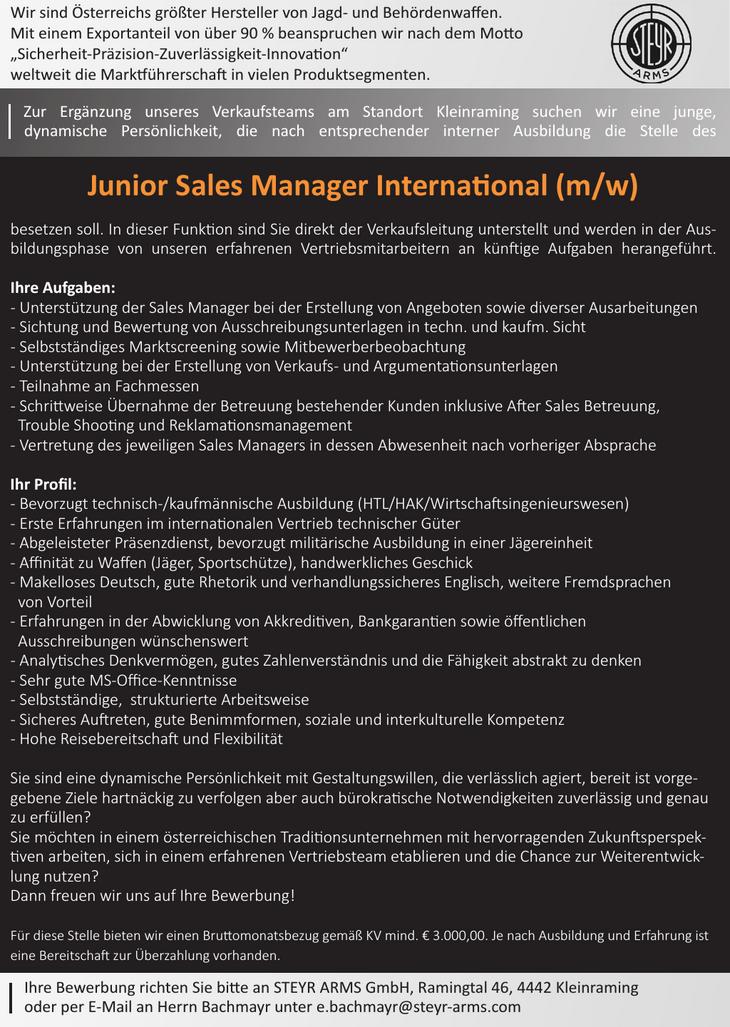 Ihre Aufgaben: - Unterstützung der Sales Manager bei der Erstellung von Angeboten sowie diverser Ausarbeitungen - Sichtung und Bewertung von Ausschreibungsunterlagen in techn. und kaufm. Sicht - Selbs