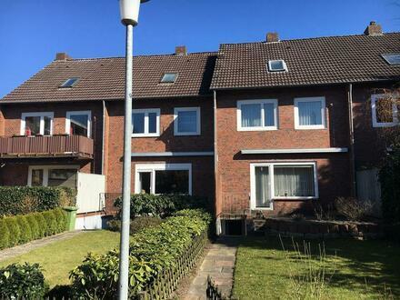 Reihenhaus im Stadtteil Nadorst, Oldenburg.