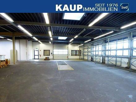 Produktions- und Lagerhalle mit Büroräumen im Gewerbegebiet Helleforthstraße in SHS