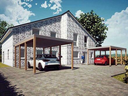 Neubau von 2 Doppelhaushälften in Nordenham - noch eine verfügbar