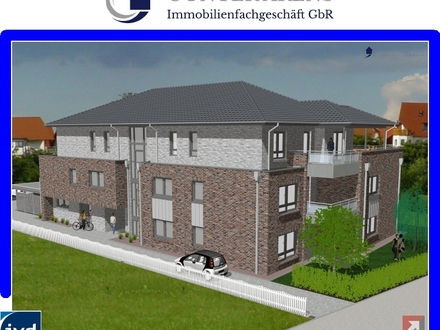 Neubau-Erstbezug! Eigentumswohnung an sehr guter bevorzugter Wohnlage in Westerstede