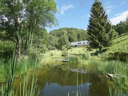 LANDHAUS ZWISCHEN ATTER- UND TRAUNSEE: ein Zuhause mit Geschichte inmitten paradiesischer Landschaft!