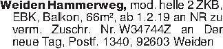 Weiden Hammerweg, mod. helle 2...