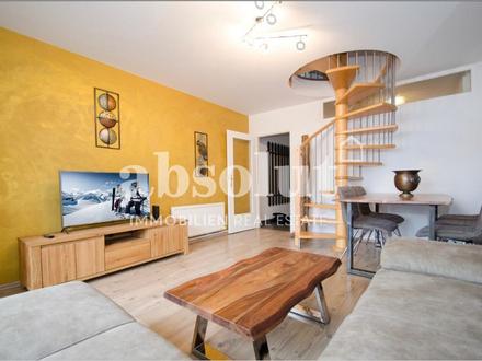 Tourisitische Vermietung in Kaprun: Appartement mit 2 SZ, 3 Badezimmer, Balkon, in zentraler Lage!