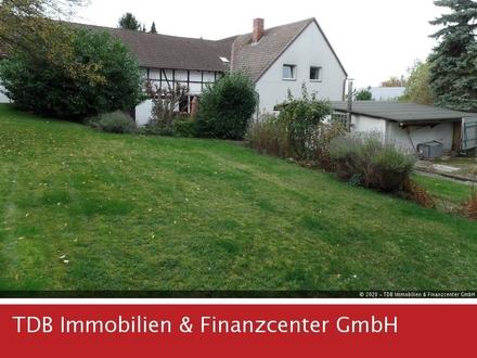 Ideal für Bauträger! 2- bis 3-Familienhaus mit Baugrundstück in SZ-Lichtenberg