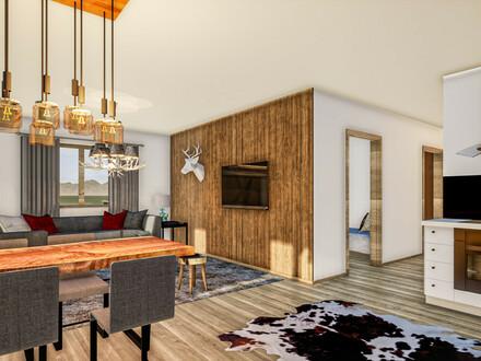 Zweitwohnsitz: Neu sanierte Wohnung