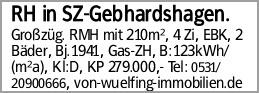 RH in SZ-Gebhardshagen.