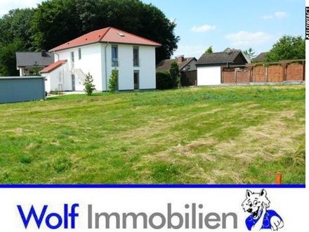 ~~Bauträgerfreies Grundstück mit einer Fläche von 965 m²~~
