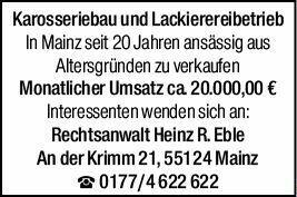 Gewerbe in Mainz (55120)