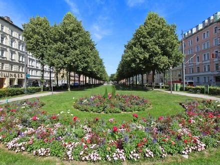 Savoir vivre! Neue 3 Zi.-Garten-Whg. im Altbau-Rückgebäude direkt am Bordeaux-Platz