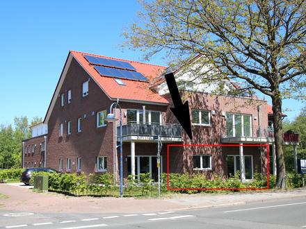 Neubau - Erstbezug - Helle und großzügige Gewerbefläche mit Parkplatz und Terrasse im Erdgeschoss