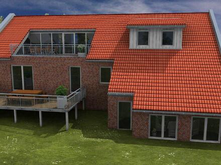 Dreifamilienhaus mit Erdwärmepumpe und Photovoltaikanlage in ländlicher Dorfidylle nahe dem Dollart