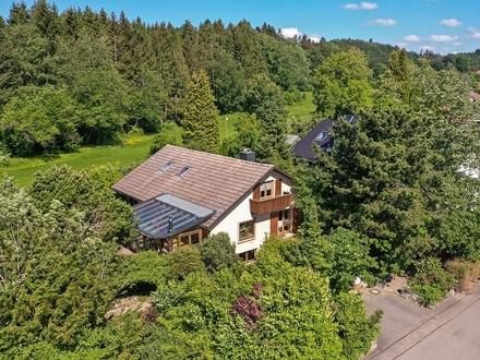 Schmuckes Einfamilienhaus mit Wohlfühlcharakter in Waldburg!