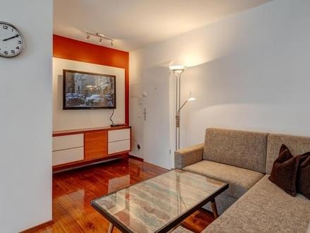 Mitten im Trendviertel Au - Top möblierte Wohnung