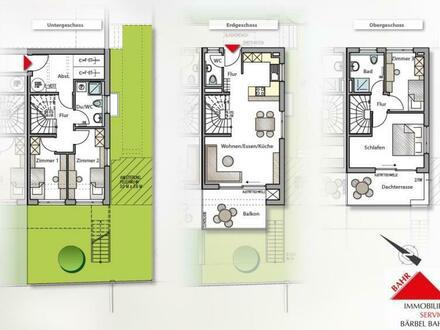 Neubau-Doppelhaushälfte in Top-Ausstattung und mit eigenem Garten!