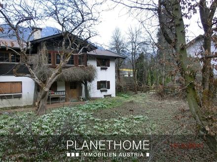 """""""Aufgepasst"""": Baugrundstück mit Altbestand in Kitzbühel Stadt"""
