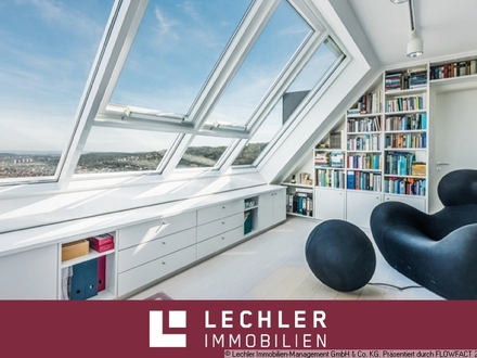 Exklusive Penthouse-Maisonette-Wohnung mit herrlichem Weitblick