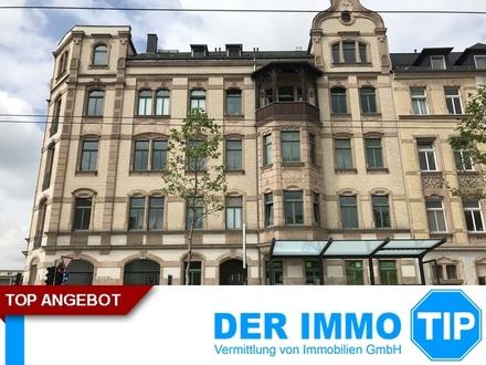 3 Zimmerwohnung mit Einbauküche - WG geeignet ++ Bernsdorf
