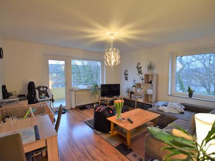 Preiswerte 2-Zimmer-Dachgeschosswohnung mit Balkon in Zentrumsrandlage