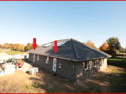 Neubau eines ebenerdigen Energiesparhauses in zentralem Ort zwischen Kappeln und Schleswig