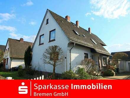 Großzügiges Einfamilienhaus mit Garage in traumhaft ruhiger Lage von Bremen-Schönebeck