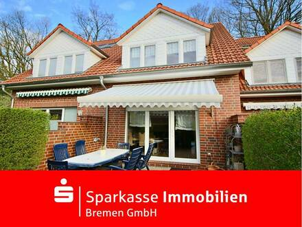 Modernes Reihenmittelhaus in familienfreundlicher und ruhiger Wohnlage von Lesum - Zum Einzug bereit