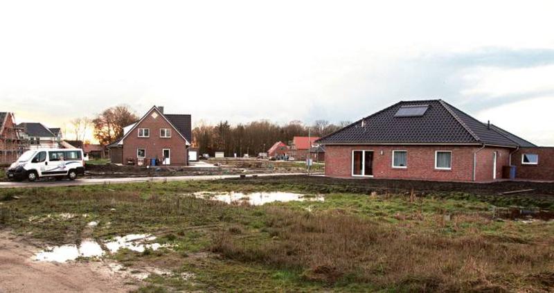 Jever freut sich über einen Bauboom – so wie hier im Baugebiet Voßhörn im Stadtteil Moorwarfen. Foto: Gabriel-Jürgens