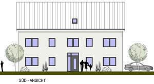 Neubau-Mehrfamilienhaus mit 5 Wohneinheiten in ruhiger Lage von Heiden