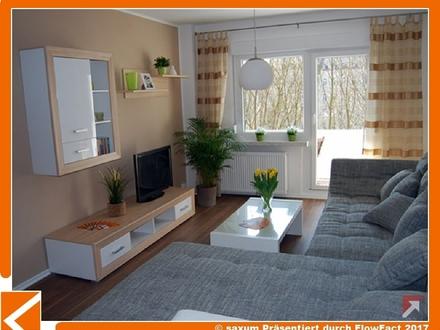 Familienwohnung mit 2 Bädern, Abstellraum und 2 Balkonen ganz oben im Grünen!