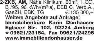 2-ZKB, AM, Nähe Klinikum, 60m²...