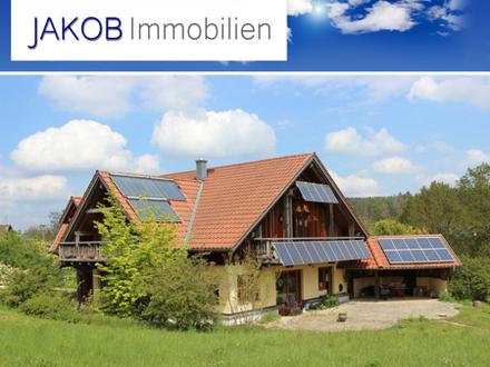 Biologisch, ökologisch, nachhaltig - Individuelles Traumhaus aus Massivholz