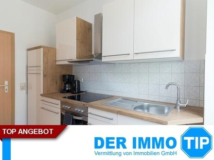 Großes Eckwohnzimmer, Einbauküche, Bad mit Fenster - 1-Raum-Wohnung in Chemnitz-Siegmar