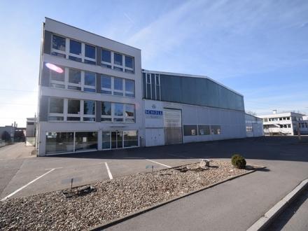 Ravensburg - Südstadt Großzügige Produktionsflächen mit Verwaltungstrakt in zentraler Lage