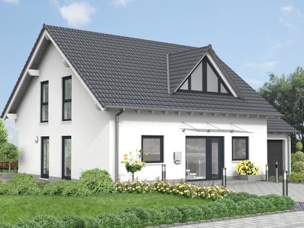 Neubau- Einfamilienhaus in ruhiger Feldrandlage in Ranstadt