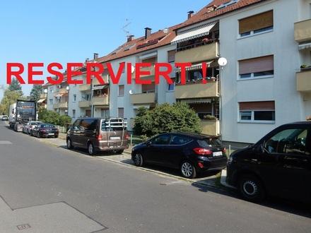 Bezahlbare, praktische 2-Zimmerwohnung für Eigenbedarf oder respektable Rendite
