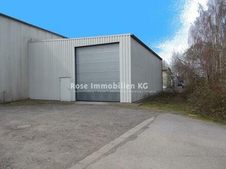 ROSE IMMOBILIEN KG: Kalt -Lagerhalle mit Schwerlastregalen.