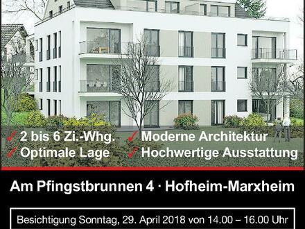 Hofheim-Marxheim: 12 moderne Neubau-Eigentumswohnungen