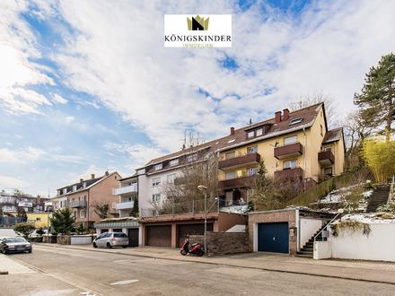 Voll vermietetes Appartmenthaus mit 17 kleinen Wohneinheiten in ruhigerHalbhöhenlage von Stuttgart!