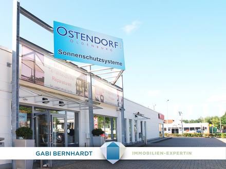 !Große Schaufenster & breite Ausstellungsfläche im wachstumsstarken OL- Wechloy vor Media Markt!