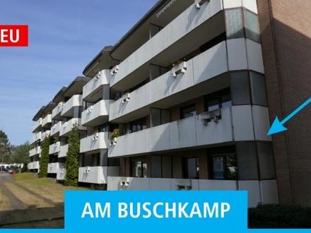 3-Zimmer-Wohnung mit Balkon, Einbauküche und Tiefgaragen-Stellplatz