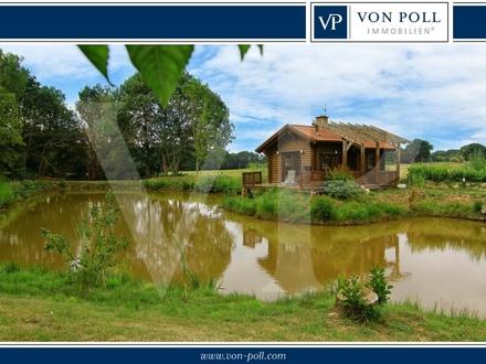 Zwei sanierte Landarbeiterhäuser in idyllischer Lage am See