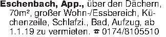 Eschenbach, App., über den Däc...