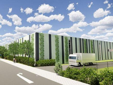 Ca. 2.500 m² Neubau Gewerbeflächen im Gewerbepark direkt an der Auffahrt A33