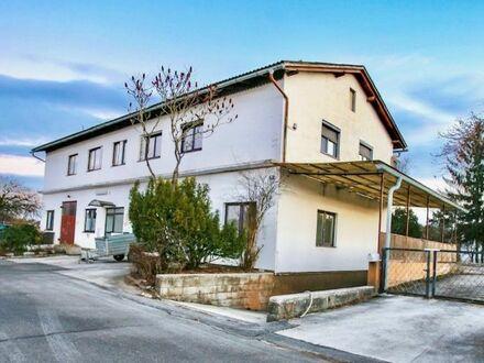 Anlageobjekt mit 4 Wohnungen, 1 Kleinbüro, 700 m² Keller auf 1.714 m² Grund