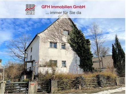Bieterverfahren, Grundstück mit Abbruch-/Altbestand in gefragter Wohnlage von Rosenheim zu vergeben