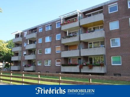 Bezugsfreie 3-Zimmer-Wohnung mit Loggia in zentrumsnaher Wohnlage in Oldenburg - Eversten