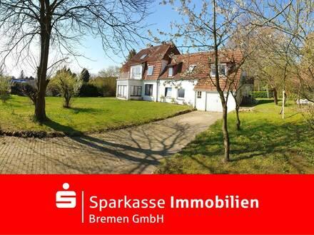 Gepflegtes Zweifamilienhaus mit Garten und Garage in zentraler Lage von Osterholz-Scharmbeck