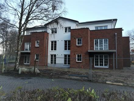 Erdgeschoss Neubau-Whg. 3 Zi., 90 m² m. Terrasse und kl. Garten Bad Zw.-ahn, zentral und doch ruhig gelegen