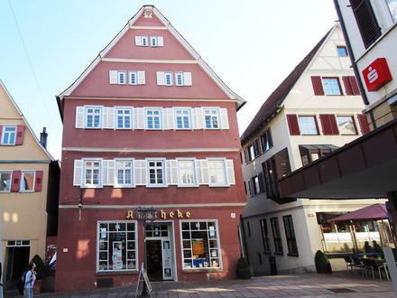 Denkmalgeschütztes Wohn- und Geschäftshaus in Toplage in Bietigheim-Bissingen